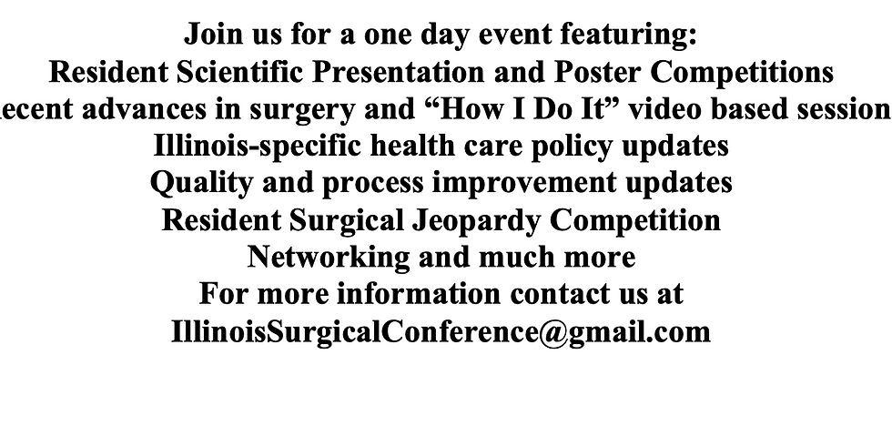 CANCELED 2nd Annual Illinois Surgical Conference