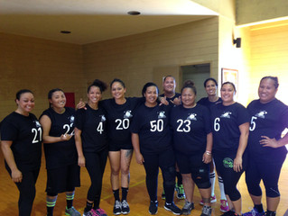 Pure Aloha Volleyball Club 1st Womens Team participates in Five-O