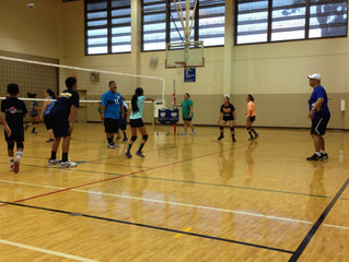 Pure Aloha Volleyball Club August Clinic