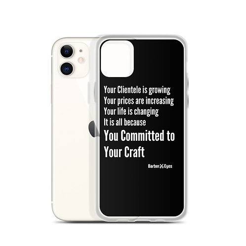 Barber Laws Of Attraction iPhone Case