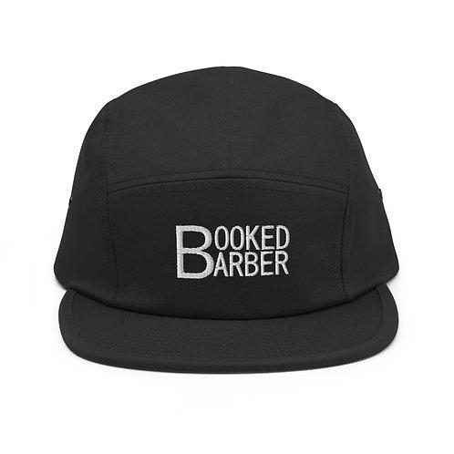 Booked Barber LOGO Five Panel Cap