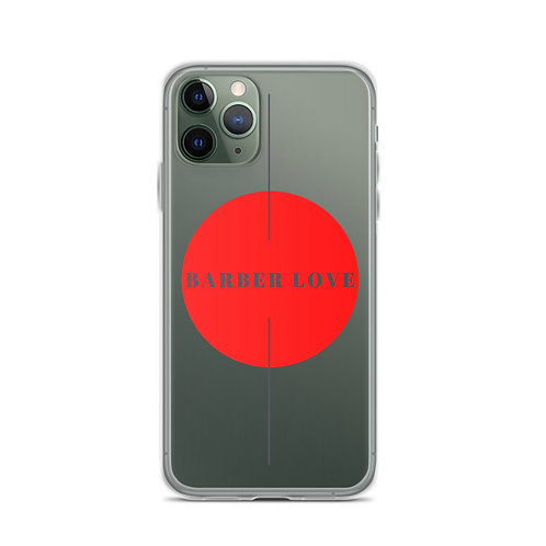 Barber Eyes Barber Love iPhone Case