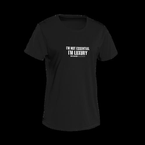 Luxury Black Short-Sleeve Unisex T-Shirt