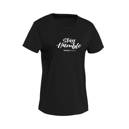 Stay Humble Black Short-Sleeve Unisex T-Shirt