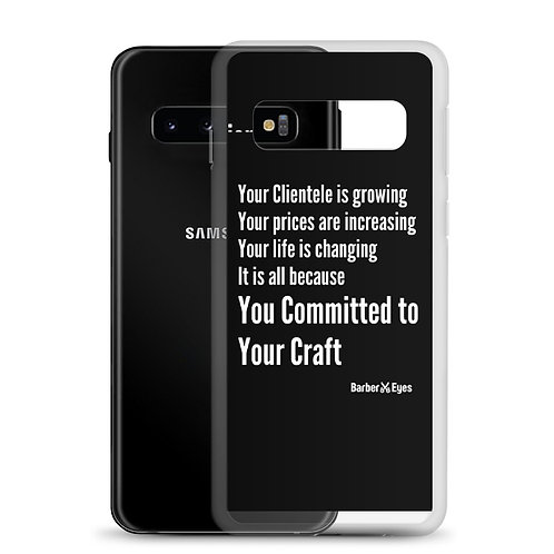 Barber Laws Of Attraction  Samsung Case