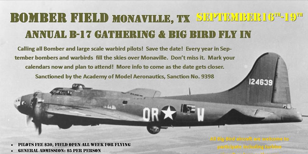 B-17 Big Bird Fly-in    **General admission**