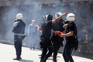 Riot Police, Gezi Protest, Istanbul 2013