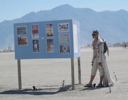 Space boy at Burning Man