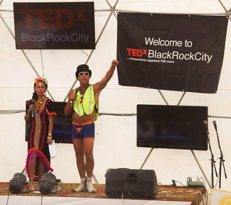 TEDxBlackRockCity 2013 Klaudia Oliver and Jon La Grace