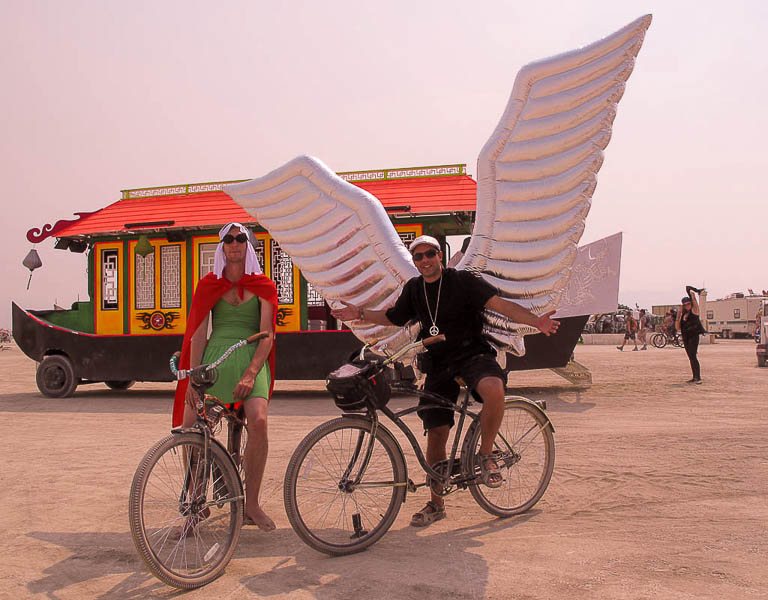 Inflatable Wings, Burning Man 2013