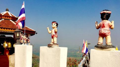 Phrae temple, Thailand