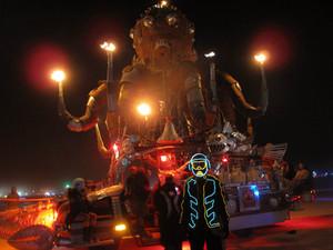 Octopus mutant vehicile, Burning Man