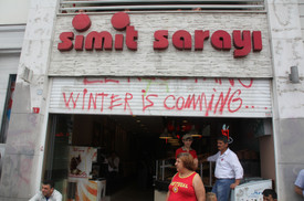 Winter is Coming, Gezi Protest, Istanbul 2013
