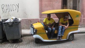 Randy, Havana street shot, Cuba 2009