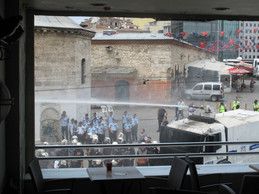 Water Tank, Gezi Protest, Istanbul 2013