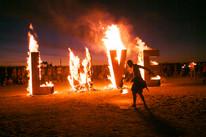 Afrikaburn LOVE installation