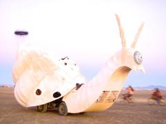 Psy-snail mutant vehicle, Burning Man