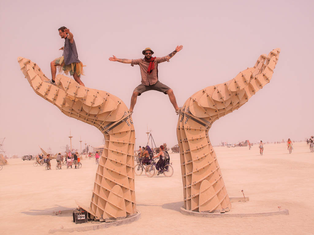 Hands, Burning Man