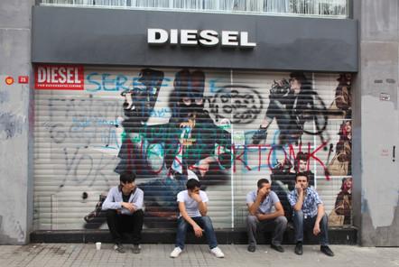 Grafitti shop, Gezi Protest, Istanbul 2013