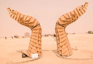 Hands, Burning Man