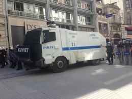 Police Van, Gezi Protest, Istanbul 2013