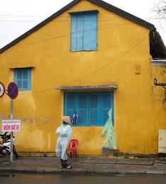 The Yellow House, Hoi An street shot