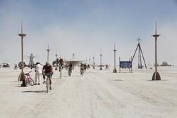 Burning Man procession