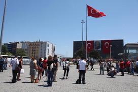 Silent vigil, Gezi Protest, Istanbul 2013