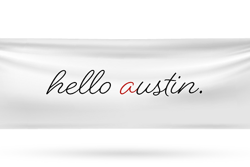 Print Austin- Stickers