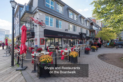 Shops and Reastaurants
