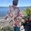 Thumbnail: Vintage Aztec Combo Quilt Chore Coat