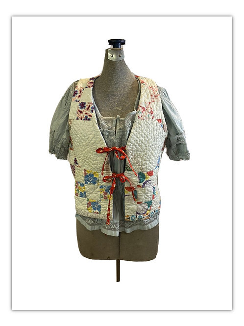 Vintage Quilt Vest