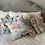 Thumbnail: Vintage Baby Blue Star Quilt Pillows