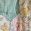 Thumbnail: Vintage Flower Garden Hexagon Quilted Jacket