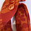 Thumbnail: Vintage Orange Flowered Tote