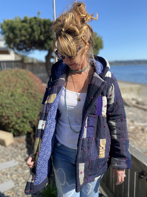 Harrison Kellum Wool Quilted Jacket