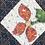 Thumbnail: Vintage Navy Chrysanthemum Patchwork Quilted Jacket NO Hood