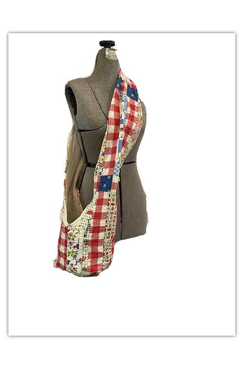 Colorful Cotton Patchwork Quilt Bag
