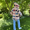 Thumbnail: Vintage Bowtie Quilt Jacket w Hoold