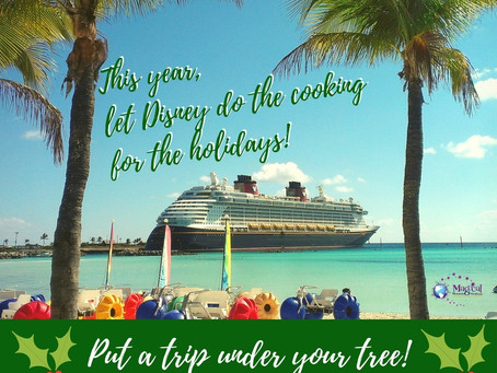 Surprise Your Family with a Disney Cruise This Christmas!