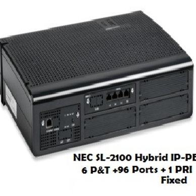 NEC SL-2100 Hybrid EPABX System 6 P&T + 96 Ports