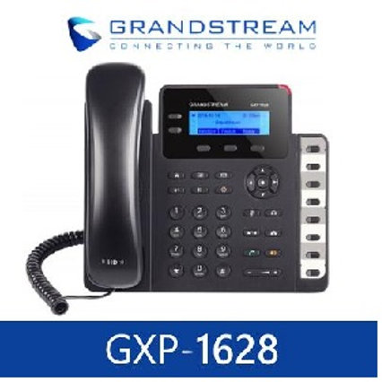 GRANDSTREAM-GXP1628(2 Lines, 2 SIP Accounts, PoE + GigE,)