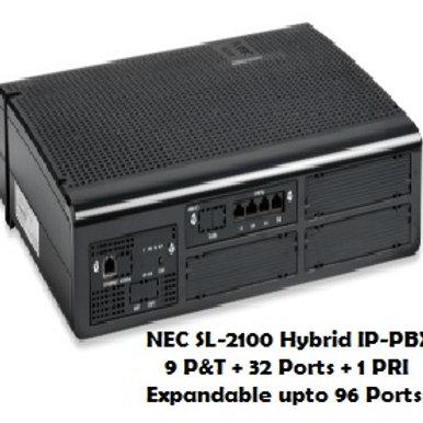 NEC SL-2100 Hybrid EPABX System 9 P&T + 32 Ports