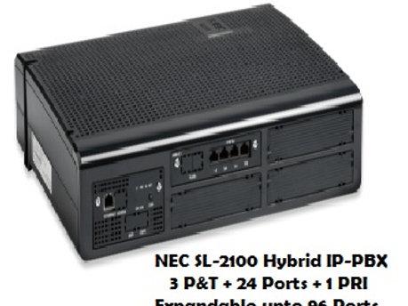 NEC SL-2100 Hybrid EPABX System 24 Ports