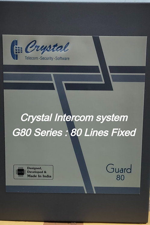 CRYSTAL G80 FIXED INTERCOM SYSTEM