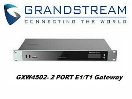 Grandstream GXW4502 E1/T1 Digital Gateway