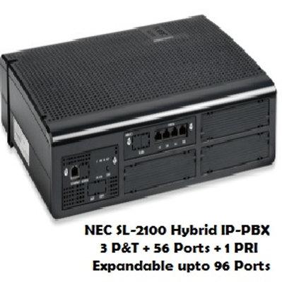 NEC SL-2100 Hybrid EPABX System 56 Ports