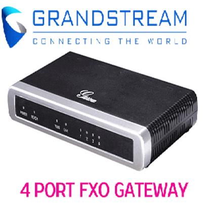 GXW4104 4 PORT FXO GATEWAY