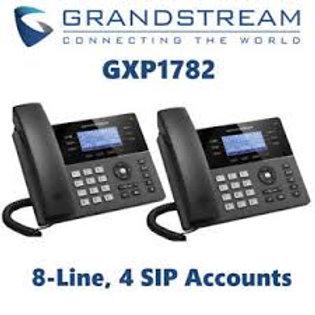 GRANDSTEAM-GXP1782(8 Lines, 4 SIP Accounts, PoE + GigE)