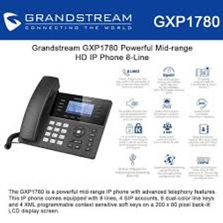 GRANDSTEAM-GXP1780(8 Lines, 4 SIP Accounts, PoE)